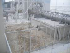 Photo:Power Station struck by tsunami