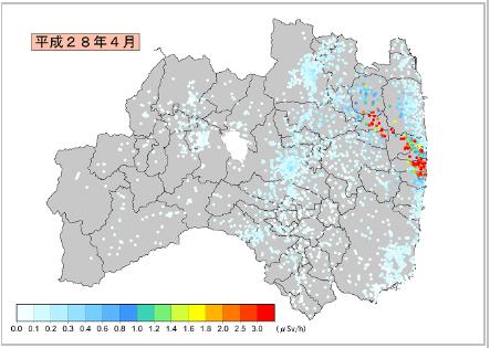 県内の放射線状況 - ふくしま復...