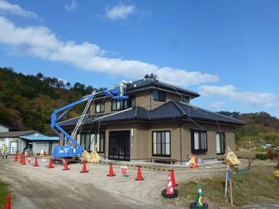 Image :Decontamination Activities in Tamura City 1