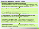 Image: Radioactive Materials in foods