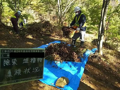 Image :Decontamination Activities in Tamura City 5