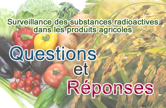 Main slide image: Monitoring of radioactive substances in Agricultural Products Q&A