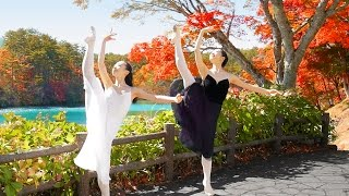 [Urabandai in Autumn] Ballerinas Dance among the Autumn Colors