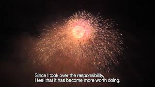 "Fireworks launch hope and courage ""All Japan Fireworks Display at Shakado-gawa River"""